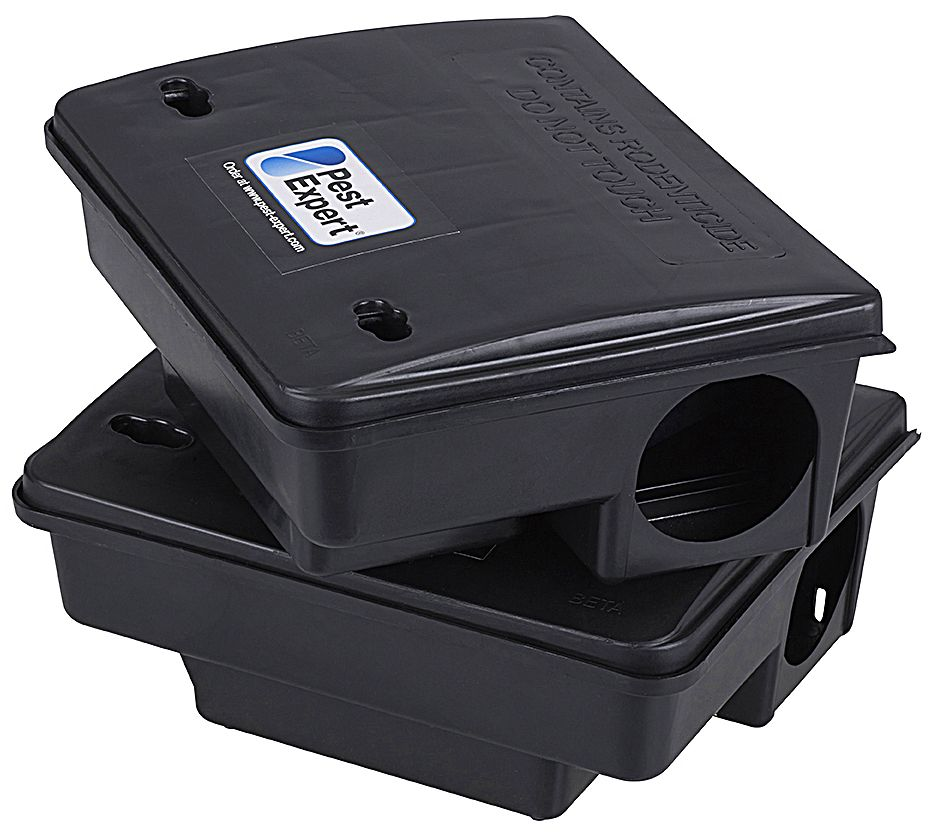 Pest Expert Rat Poison Bait Boxes Heavy-Duty with Locking ...