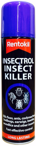 Rentokil Insectrol Crawling Insect Killer Spray 250ml